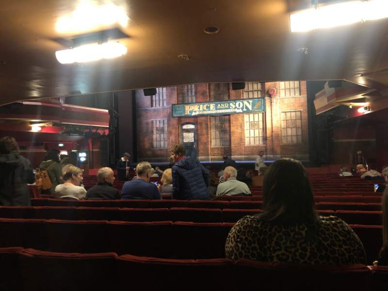 Seating view for Adelphi Theatre Section Stalls Row T Seat 10