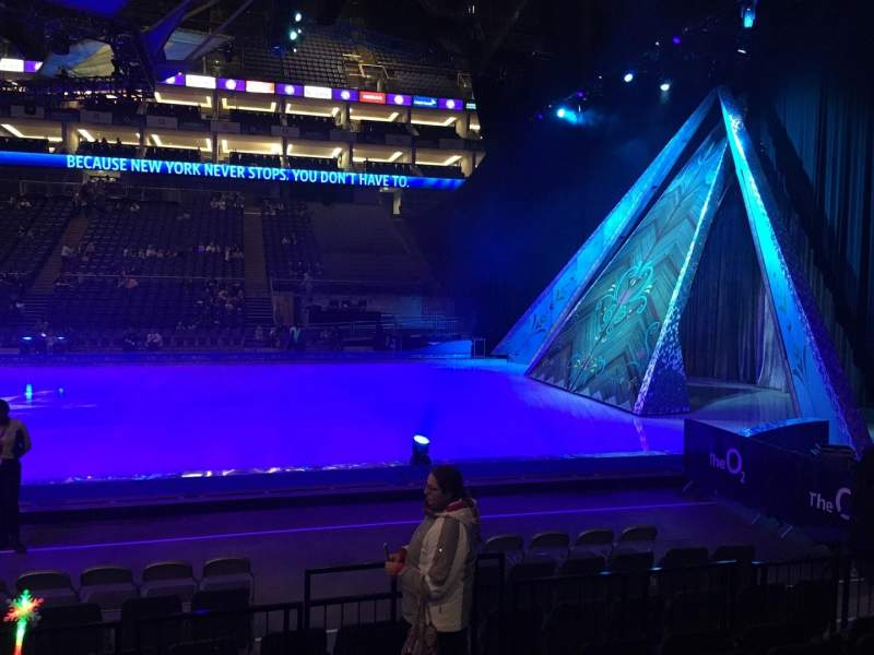 Seating view for The O2 Arena Section 111 Row F Seat 359
