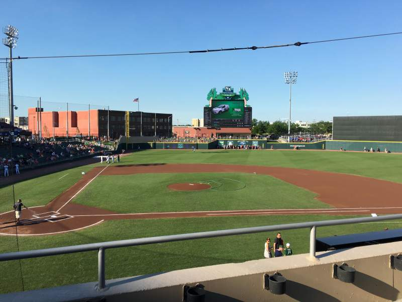 Seating view for Fifth Third Field (Dayton) Section 204 Row 2 Seat 5