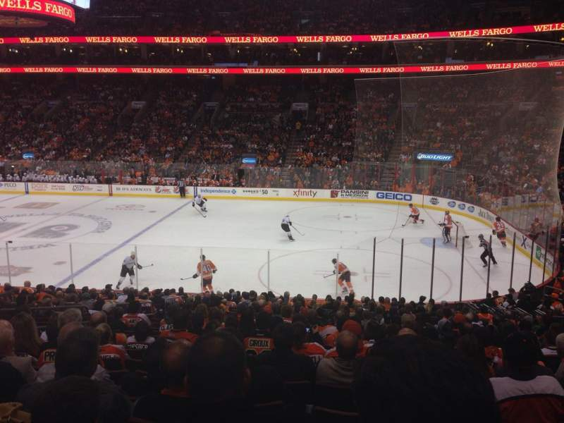 Seating view for Wells Fargo Center Section 115 Row 22 Seat 6