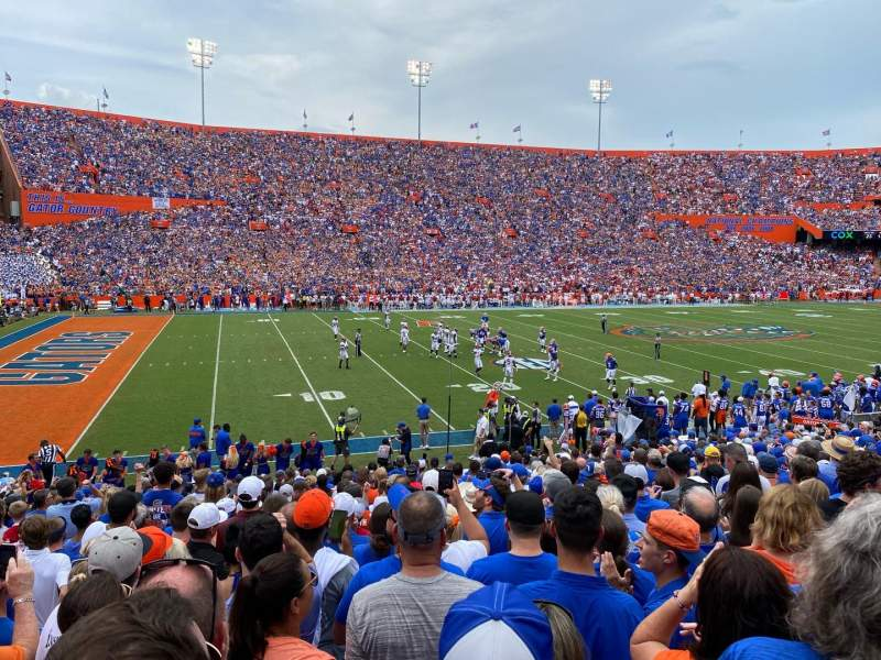 Seating view for Ben Hill Griffin Stadium Section 14 Row 25 Seat 4