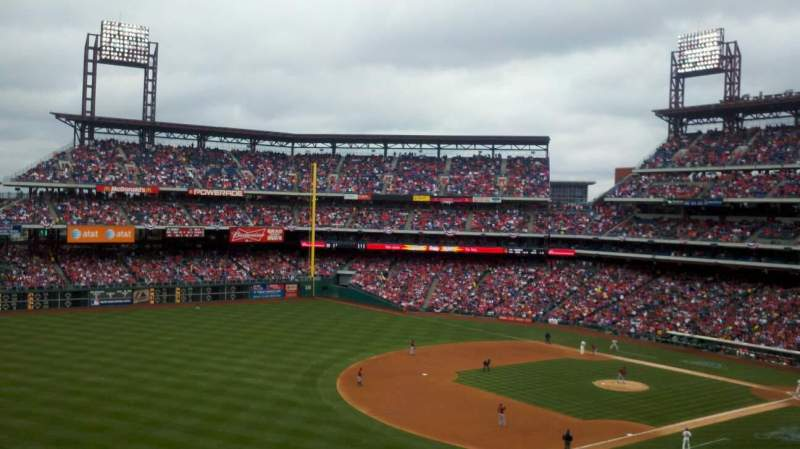 Seating view for Citizens Bank Park Section 234 Row 9 Seat 12