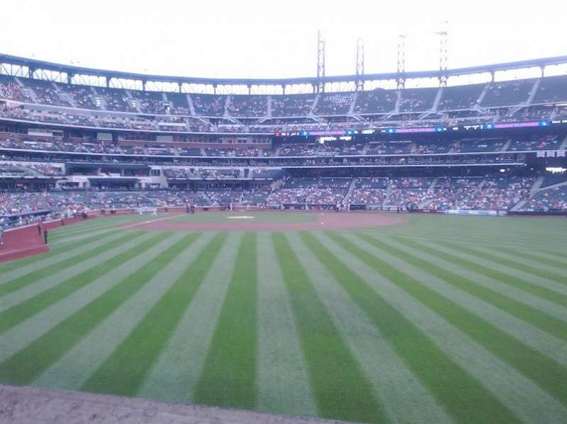 Seating view for Citi Field Section 101 Row 8 Seat 8
