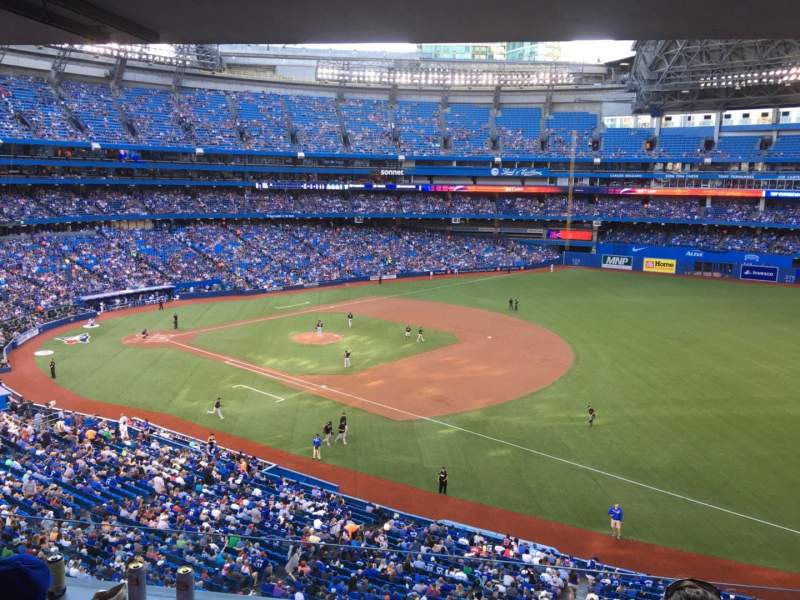 Seating view for Rogers Centre Section 312 Row A Seat 7