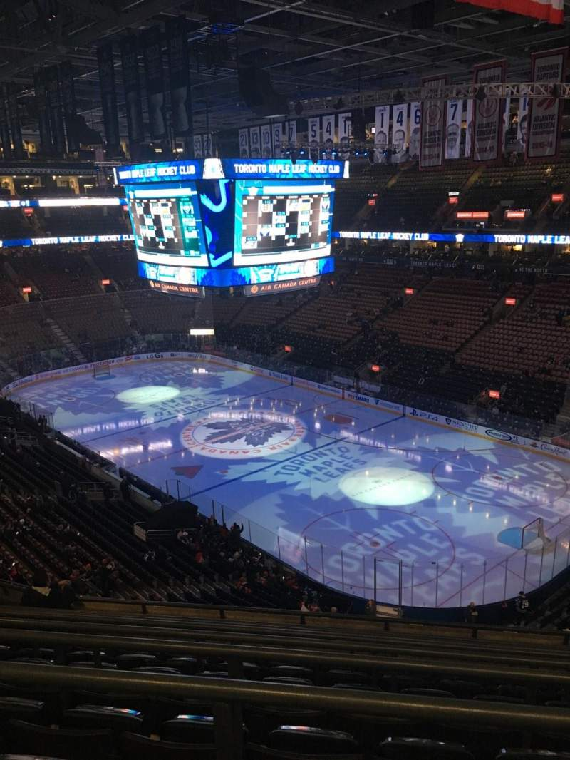 Seating view for Scotiabank Arena Section 318 Row 8 Seat 10
