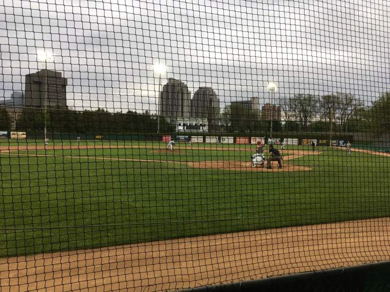 Seating view for Labatt Park Section VIP Row 3 Seat 6