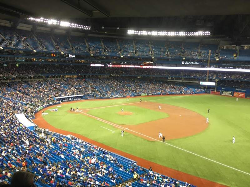 Rogers Centre, section: 312, row: 1, seat: 4