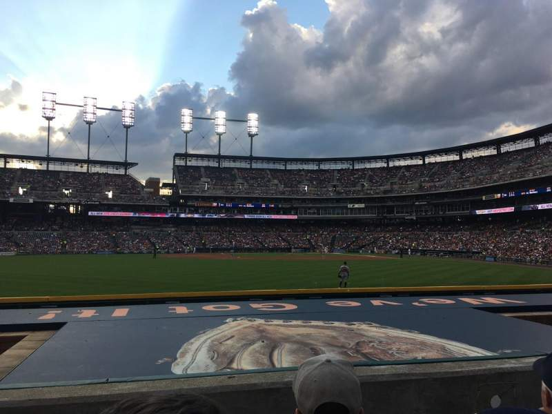 Comerica Park, section: 149, row: C, seat: 18
