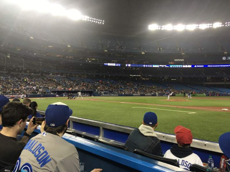 Rogers Centre, section: 115L, row: 2, seat: 105