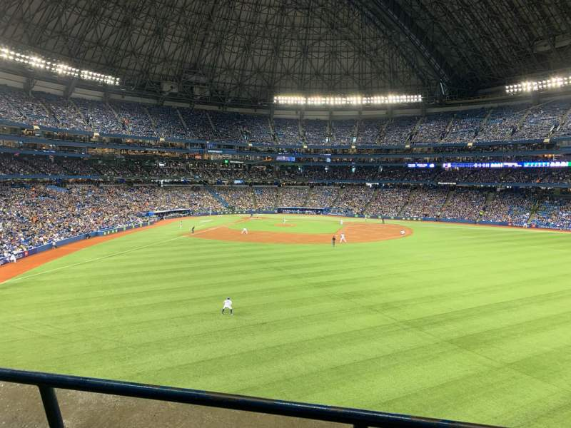 Seating view for Rogers Centre Section 205L Row 2 Seat 105