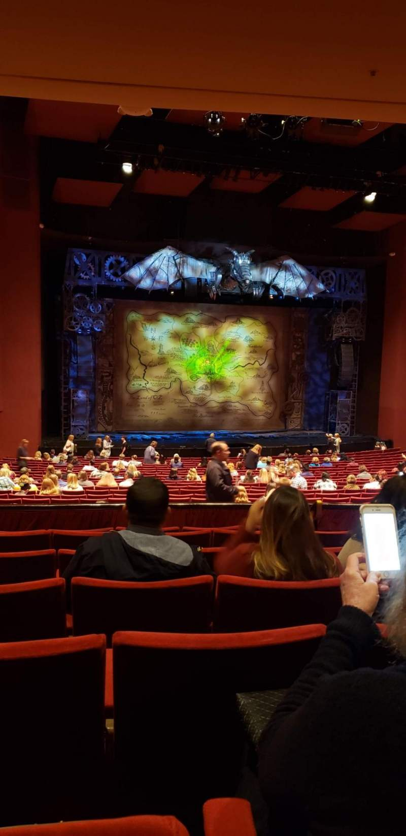 Seating view for San Diego Civic Theatre Section DRESL4 Row G Seat 37