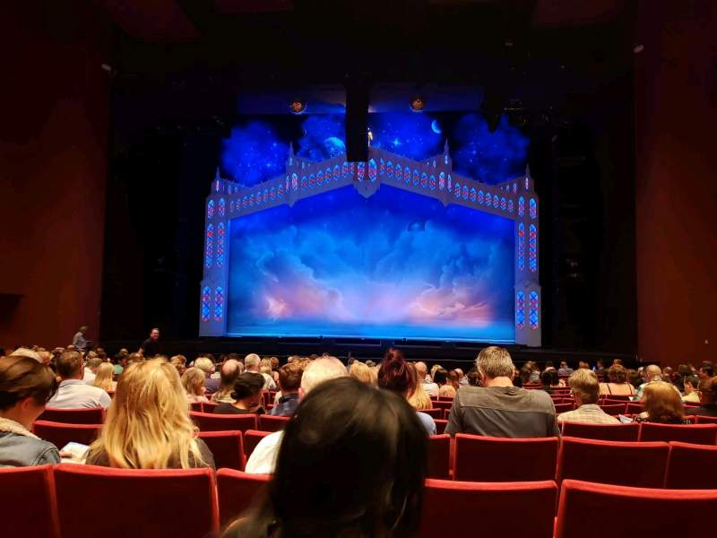 Seating view for San Diego Civic Theatre Section Orchestra Row O Seat 10