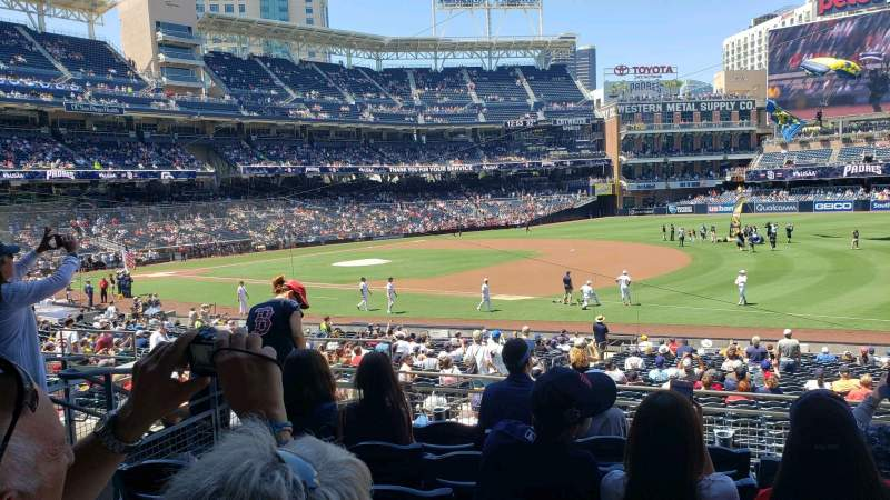 Seating view for PETCO Park Section 115 Row 32 Seat 7