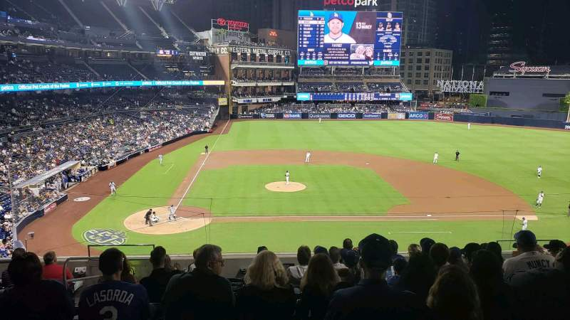 Seating view for PETCO Park Section 205 Row 10 Seat 4