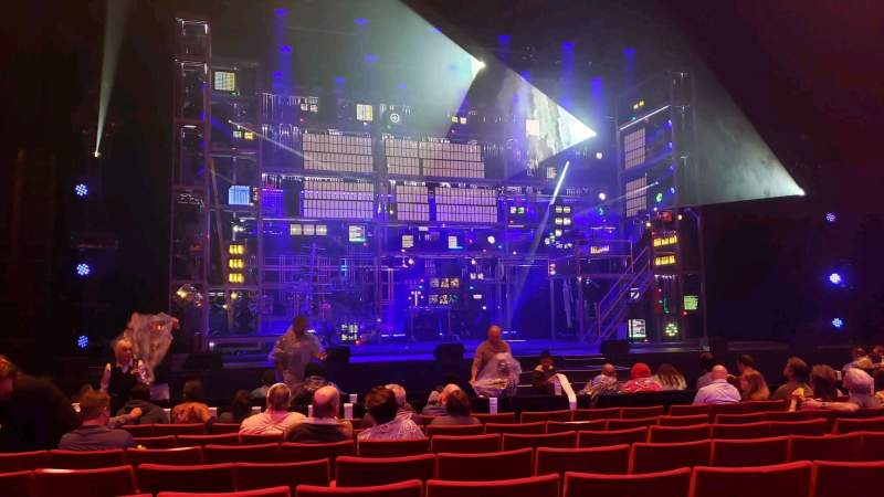 Seating view for San Diego Civic Theatre Section OrchL Row G Seat 21