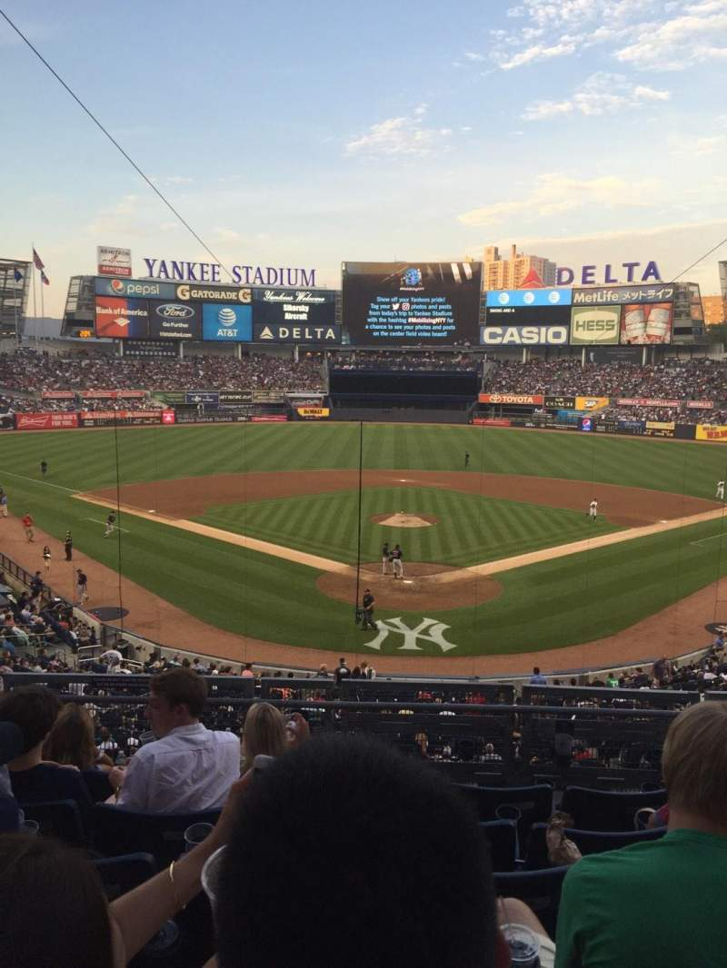Seating view for Yankee Stadium Section 220B Row 6 Seat 8