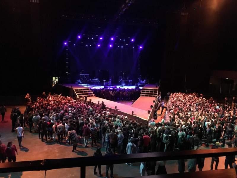 Bill Graham Civic Auditorium, section: 218, row: B, seat: 3