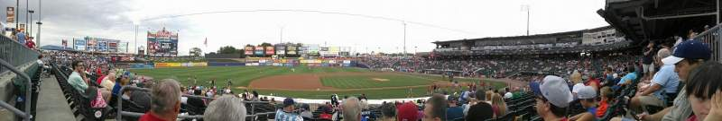 Seating view for Coca-Cola Park Section 117 Row Y Seat 18