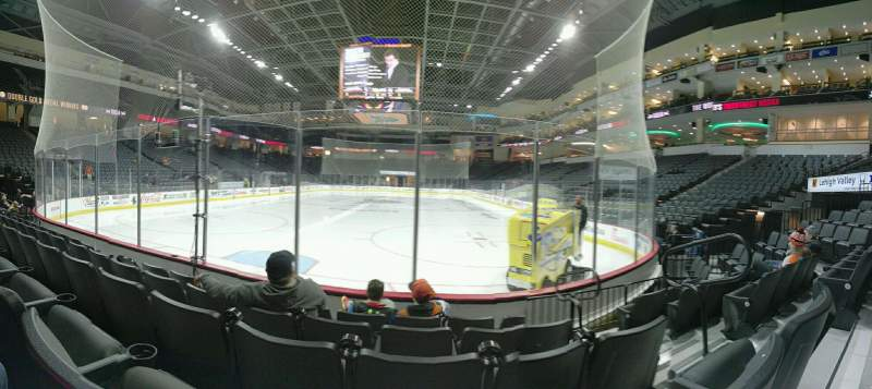 Seating view for PPL Center Section 121 Row 5 Seat 3