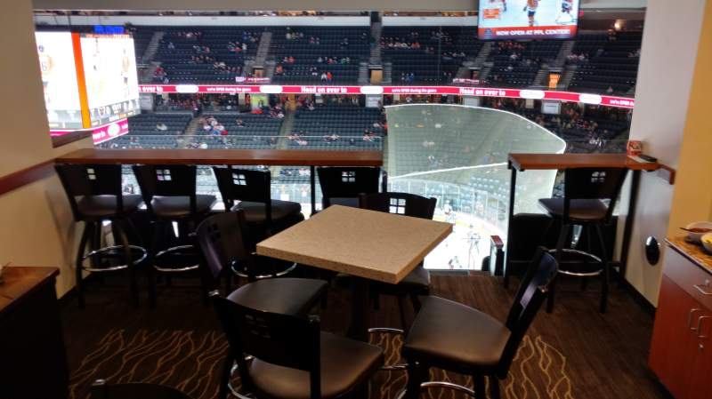PPL Center, section: Suite 1, row: 4