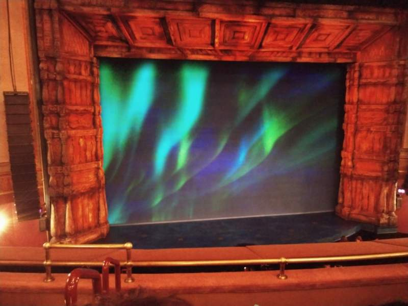 Seating view for St. James Theatre Section Mezzanine C Row D Seat 115