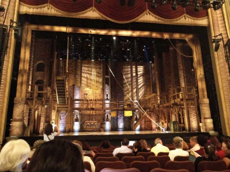 Seating view for Forrest Theatre Section Orchestra C Row L Seat 112