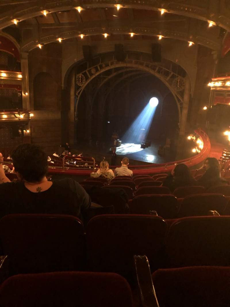 Seating view for Lyric Theatre Section Dress Circle R Row H Seat 8