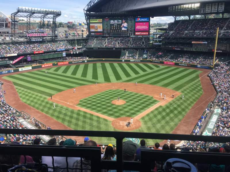 Seating view for T-Mobile Park Section 331 Row 9 Seat 8