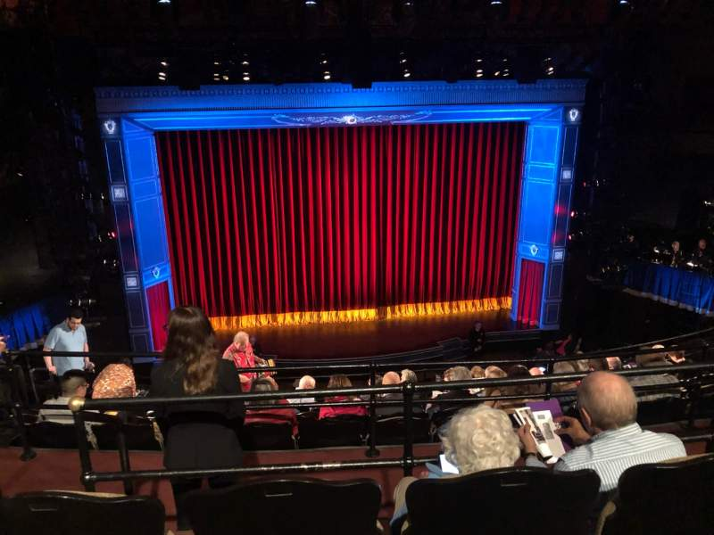 Seating view for Studio 54 Section Rear Mezzanine C Row GG Seat 212