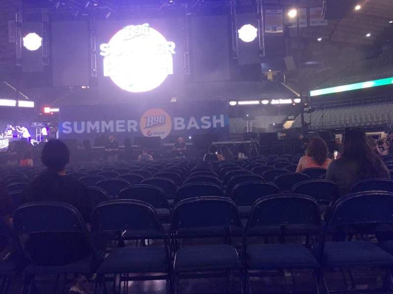 Seating view for Allstate Arena Section 3 Row 18 Seat 10