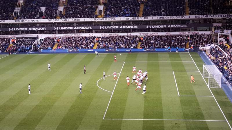Seating view for White Hart Lane Section C Row 15 Seat 65