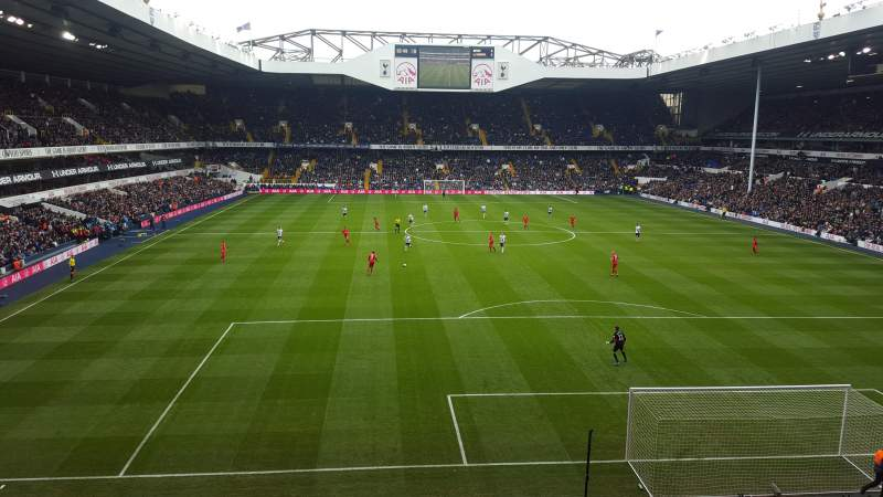 Seating view for White Hart Lane Section 44 Row 4 Seat 148