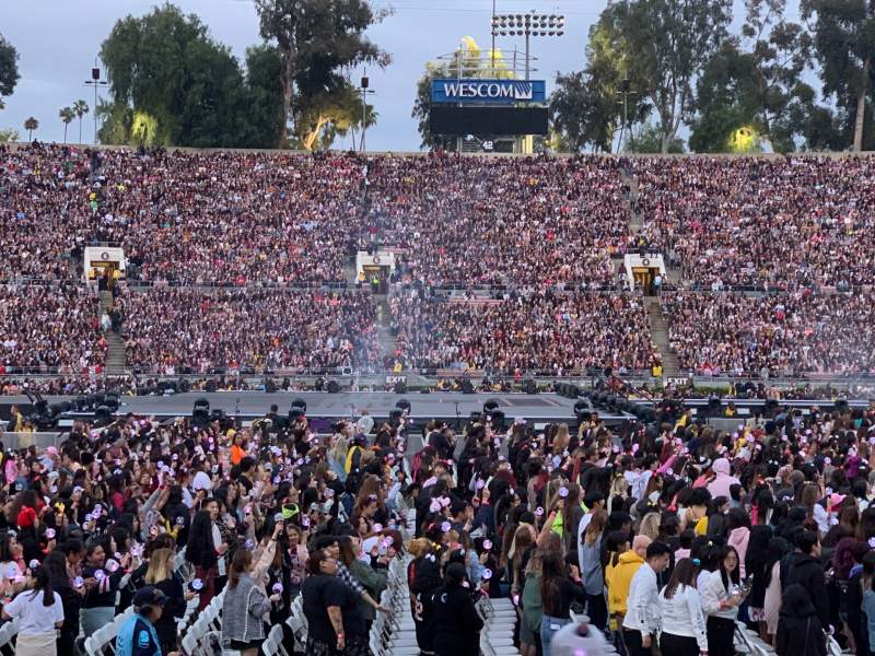 Seating view for Rose Bowl Section 18-H Row 6 Seat 102