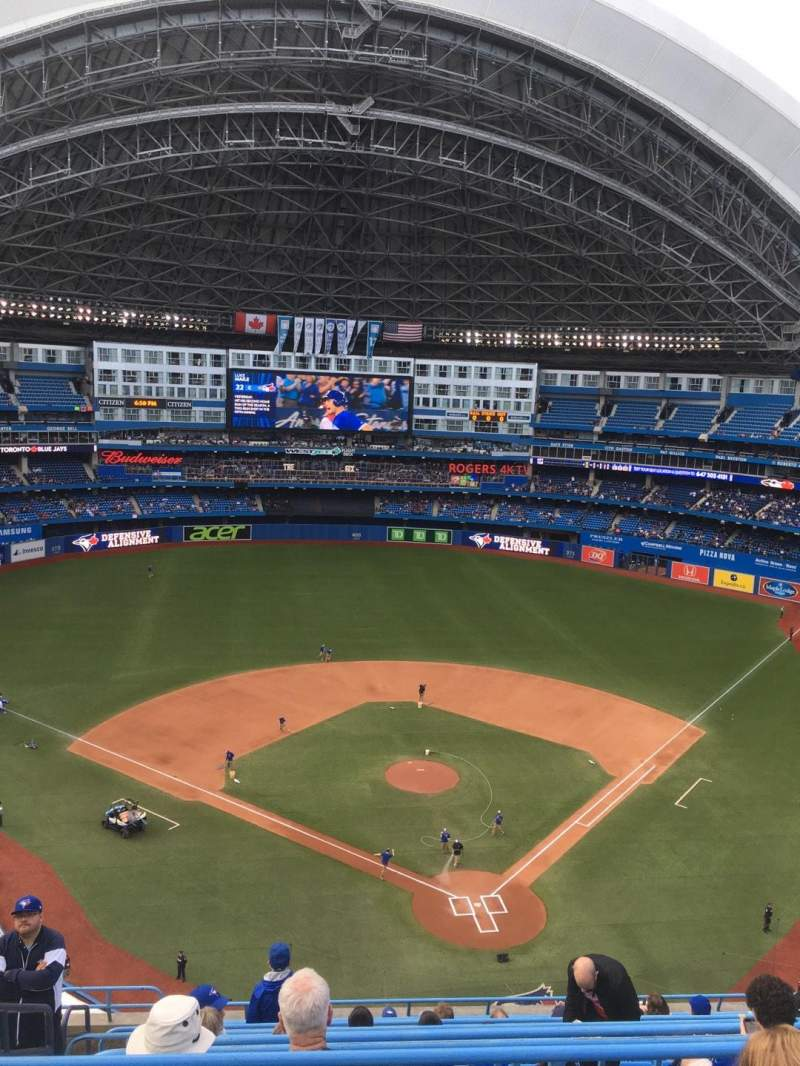 Seating view for Rogers Centre Section 525R Row 13 Seat 5