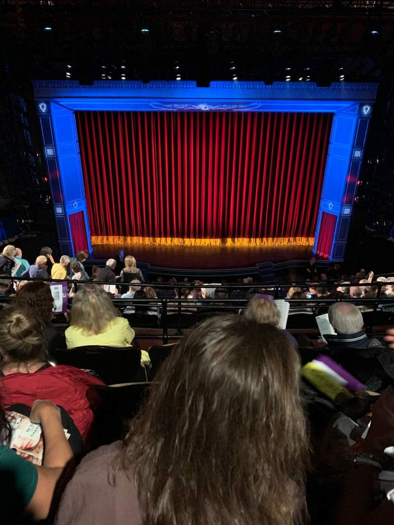 Seating view for Studio 54 Section Mezz Row HH Seat 208