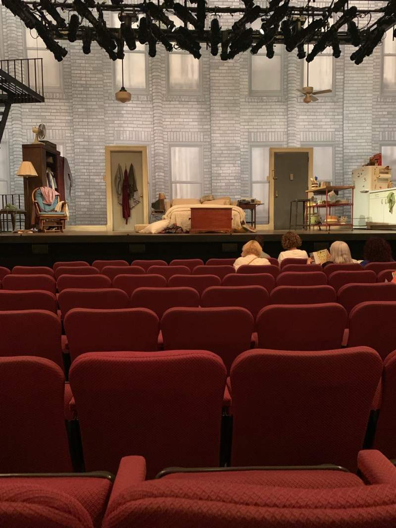 Seating view for Broadhurst Theatre Section Orchestra C Row G Seat 107