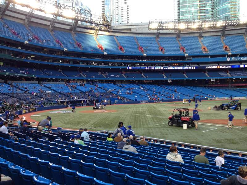 Seating view for Rogers Centre Section 116L Row 15 Seat 104
