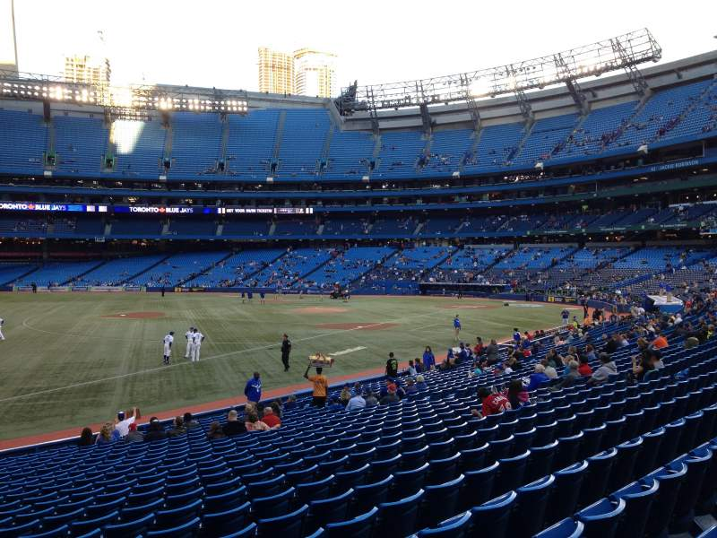 Seating view for Rogers Centre Section 130CL Row 24 Seat 101