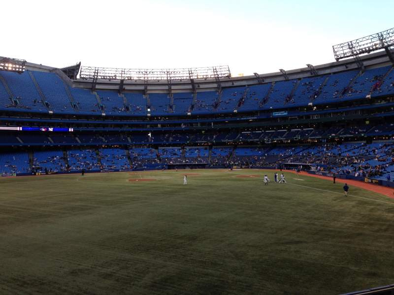 Seating view for Rogers Centre Section 137L Row 1 Seat 101
