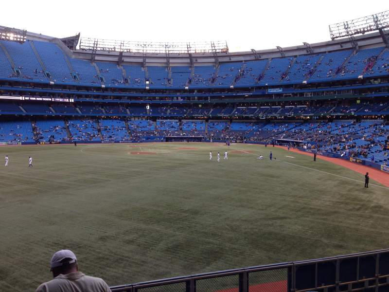 Seating view for Rogers Centre Section 137L Row 5 Seat 103