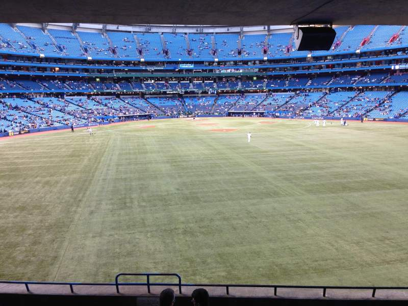 Seating view for Rogers Centre Section 102R Row 9 Seat 3