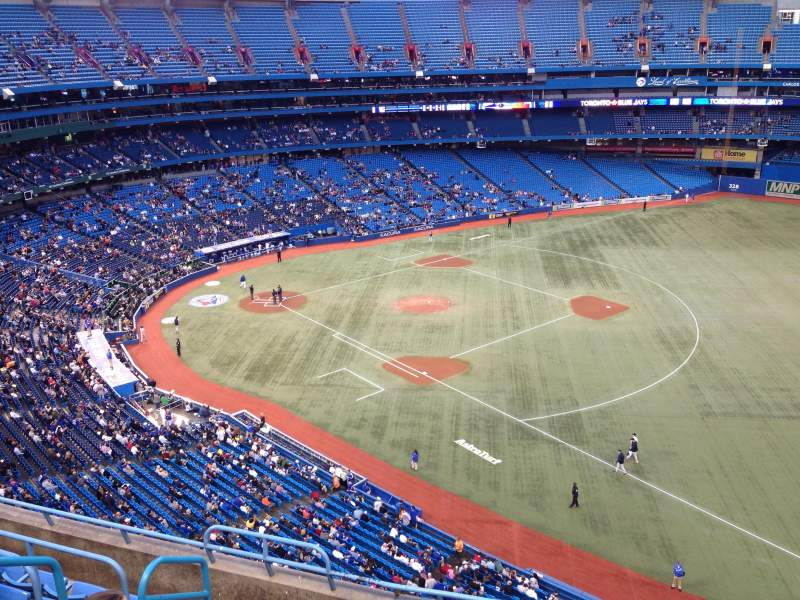 Seating view for Rogers Centre Section 514 Row 7 Seat 4