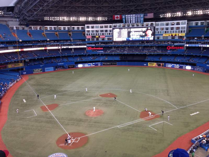 Seating view for Rogers Centre Section 523R Row 4 Seat 8