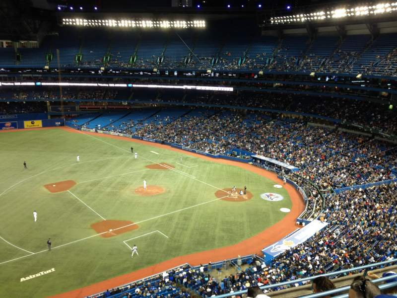 Seating view for Rogers Centre Section 532R Row 5 Seat 4
