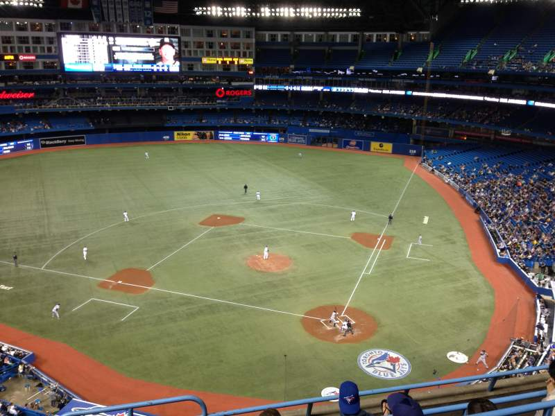 Seating view for Rogers Centre Section 526 Row 5 Seat 4