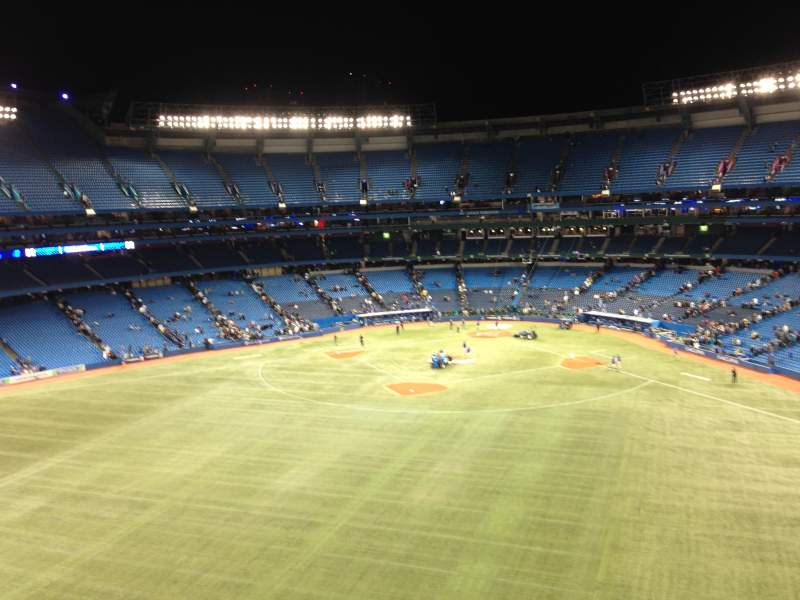 Seating view for Rogers Centre Section Suite 134