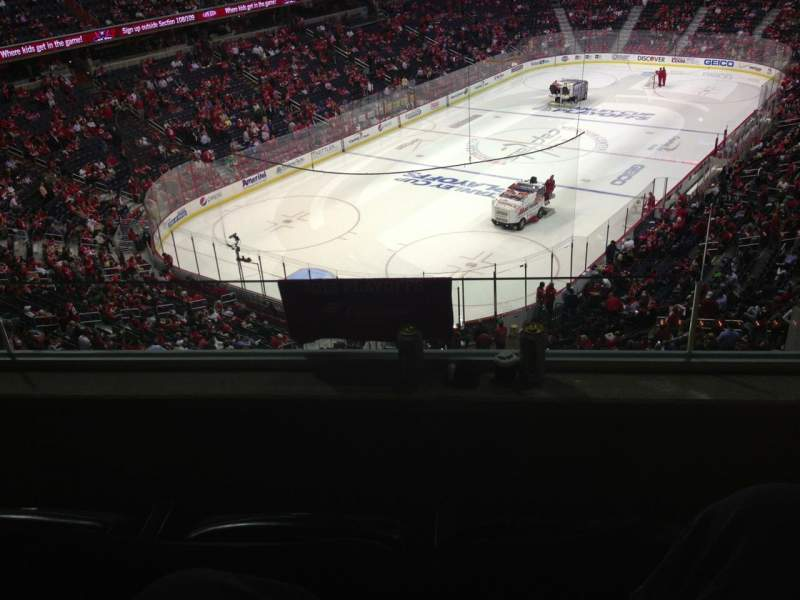 Seating view for Capital One Arena Section Suite 359 Row G/a Seat 1