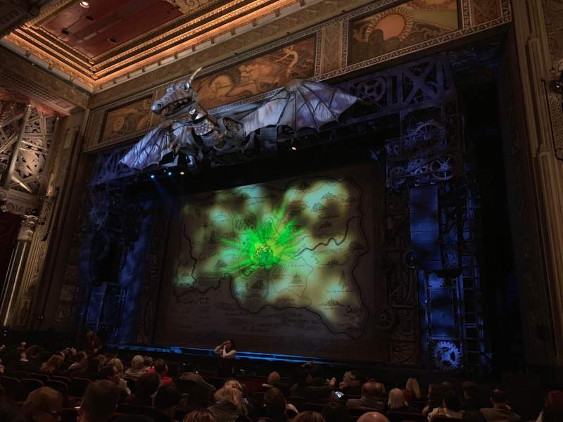 Seating view for Hollywood Pantages Theatre Section Orchestra RC Row M Seat 212