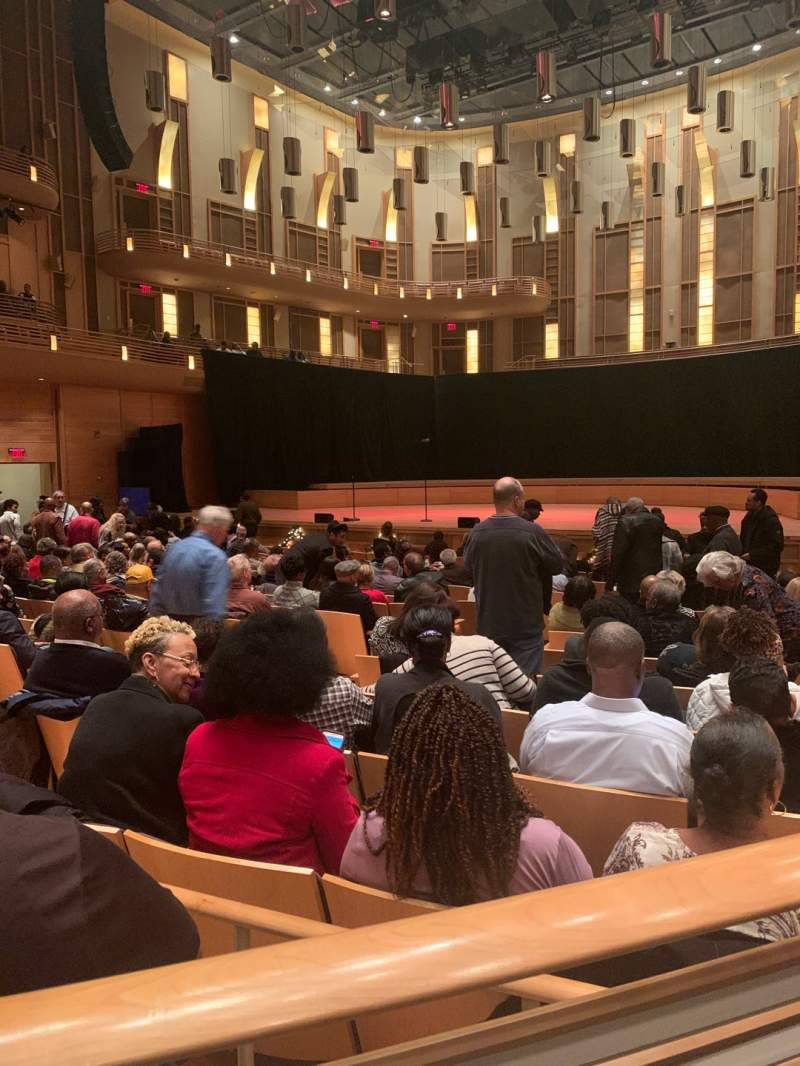 Seating view for The Music Center at Strathmore Section OT Right Row AA Seat 18