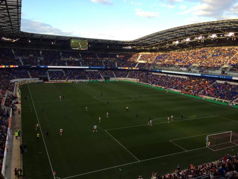 Seating view for Red Bull Arena Section 202 Row 11 Seat 31
